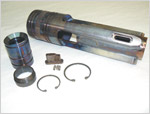 "Large Mule Shoe Assembly 6-1/2"" (Includes Wear Cuff, Key, Bottom Sleeve, Retainer Rings & Set Screws)"