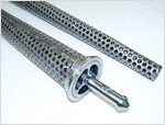 "Perforated Retrievable Drill Pipe Screens - 3/16"" Holes"