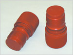 Box Protector - (Male for Female Thread); Alum - Red