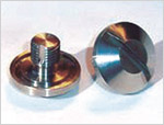 Vent Plug (Slotted); Stainless