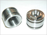 "Piston Cap, 7/8"" Hex, Nitronic 50 HS"
